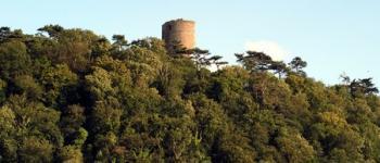 Les ruines de la tour de Cesson