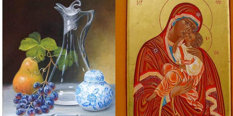 Exposition de peintures classiques