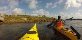 Balade nautique kayak, histoires et découvertes de l'entrée du Golfe BADEN