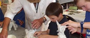 Le club des petits découvreurs (7-12 ans): Décor en mosaïque VANNES