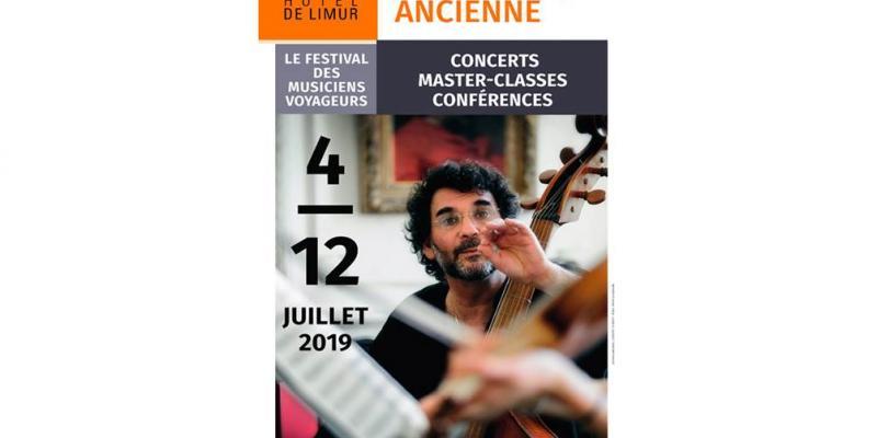 9ème Académie Européenne de Musique Ancienne : concert  un midi à Limur