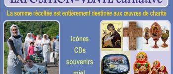 Stand caritatif d\artisanat monastique en profit d\enfants orphelins multi-handicapés VANNES