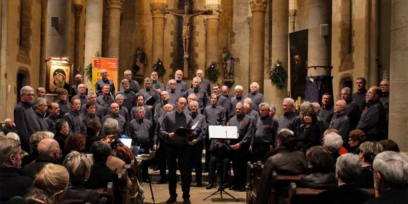 Concert du Choeur dHommes de Vannes
