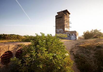 Les vestiges du Mur de lAtlantique du Bégo