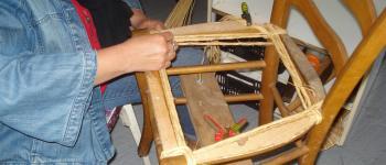 Stage d'initiation au rempaillage de chaise avec vannerie Cistea Mesquer
