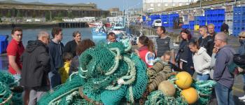 La marée du jour, le port de pêche de Keroman et une dégustation Lorient
