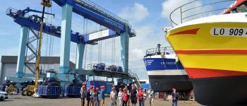 Secrets de navires : l\aire de réparation navale de Keroman Lorient