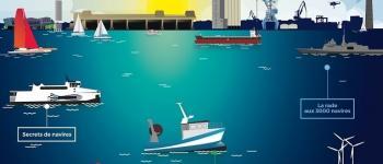 Circuit portuaire au pas de course Lorient
