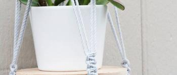 Atelier Kesi'Art : La suspension plante en macramé Rennes