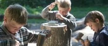 Initiation taille et travail de la pierre à l'écomusée rural Vigneux-de-Bretagne