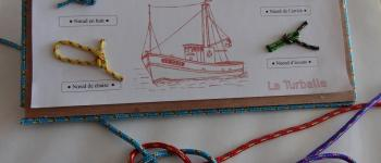 Atelier nœuds marins La Turballe