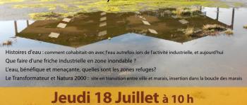 « Au Transf'Eau, vies aquatiques ». L'eau vivante habitante du site Saint-Nicolas-de-Redon