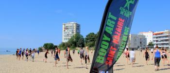 Séance de sport gratuite sur la plage avec le body art Saint-Nazaire