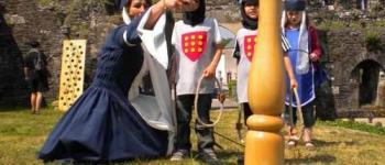 Jeux et jouets d'inspiration médiévale au château médiéval Oudon