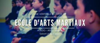 Inscriptions école d\arts martiaux enfants Nantes