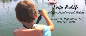 Séance de paddle Lorient