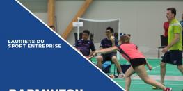 Tournoi entreprise, badminton La Turballe