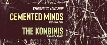 Cemented Minds / The Konbinis - Concert - Copie Trévou-Tréguignec