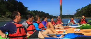 Balade Kayak sur le rivière de Pont l\Abbé Île-Tudy