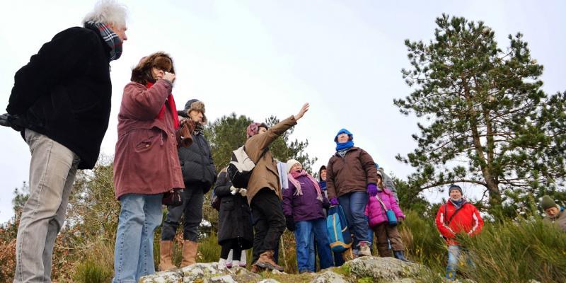 Visite guidée Le belvédère de la Roche du Theil et les marais des géants