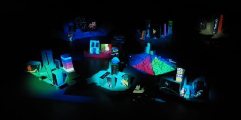 Atelier - Invention du numérique : Mapping vidéo, archipel utopique