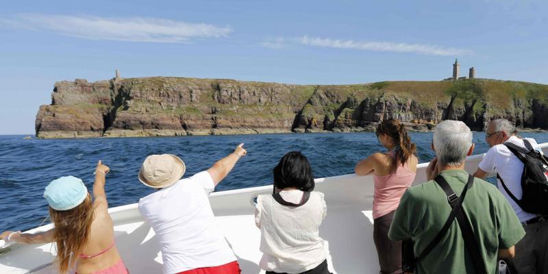 Excursion en mer autour des Caps dErquy et de Fréhel