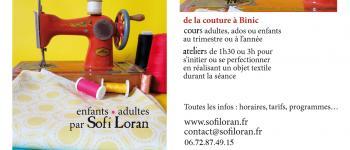 Atelier couture ados et adultes + goûter Binic-Étables-sur-Mer