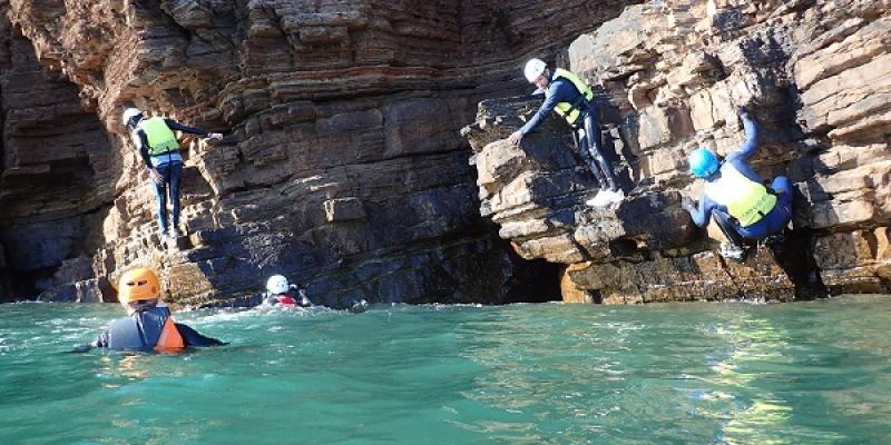 Sortie Coasteering