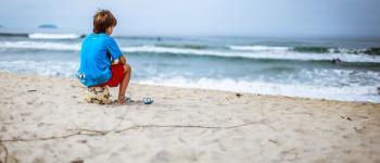 Beach soccer sur la plage de Longchamp Saint-Lunaire