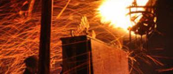La nuit des feux à la Briqueterie Langueux