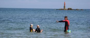 Cours de natation en mer Plouescat