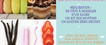Les enfants Zéro Déchet - Pâte à modeler, gloss et kit SOS Trégastel