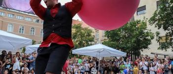 Festival Place aux Artistes - The Bubble Man Saint-Quay-Portrieux