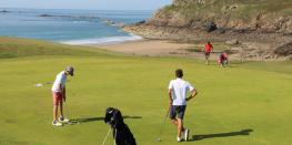 Compétition Golf - Triangulaire Chantilly/Dinard/Fontainebleau Saint-Briac-sur-Mer