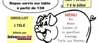 Cochon grillé du vélo-club plouguiellois Plouguiel