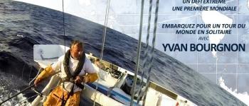 Projection \En équilibre sur l\Océan\ et conférence du navigateur Yvan Bourgnon Perros-Guirec