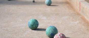 concours de boules La motte