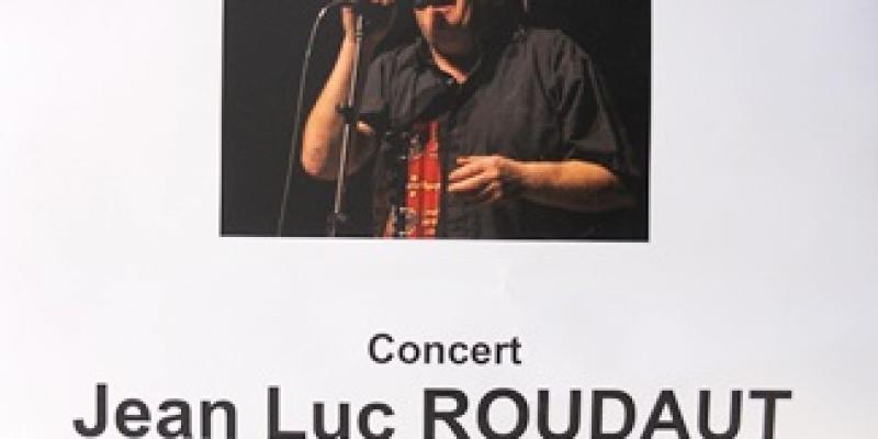 Concert de Jean-Luc Roudaut - dimanche 28 avril - 15h30 salle polyvalente de La Feuillée