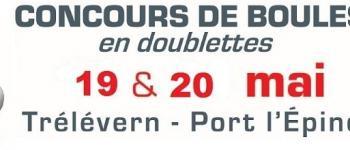 Concours de boules : challenge Le Plapoux Trélévern