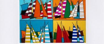 Exposition de peintures acrylique et pastel sec Eliot Nyls Île-Tudy
