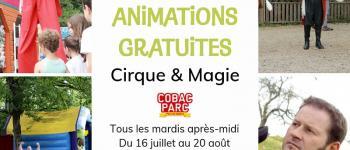 Animations gratuites à Cobac Parc Mesnil-Roc'h