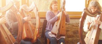 Stage de harpe celtique. Plounéour-Ménez