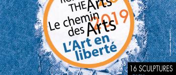 Chemin des Arts 2019 : « Bleu comme jean » de TOMEK Dinard