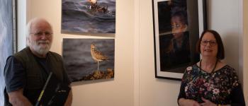 Exposition de photographes animaliers bretons Plougrescant