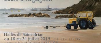 Exposition aux Halles - Laure d'Argaignon et Christophe Christophe Saint-Briac-sur-Mer