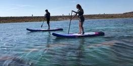 Balade paddle lagon saint Michel Fréhel