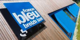 Visite Guidée du nouveau bâtiment de la radio France Bleu Breizh Izel. Quimper