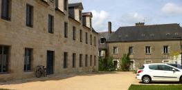 Visite de l'ancien hôpital Saint Antoine. Quimper