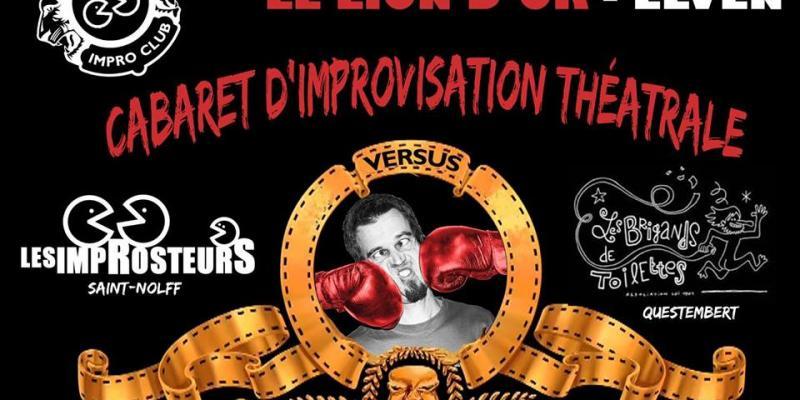 Cabaret dImpro : les Improsteurs VS les Brigands de Toilettes !