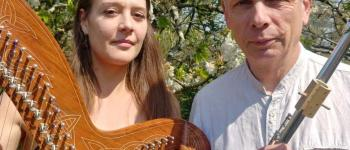Duo NYGMA en concert(flûtes et harpe)  Pont-Aven